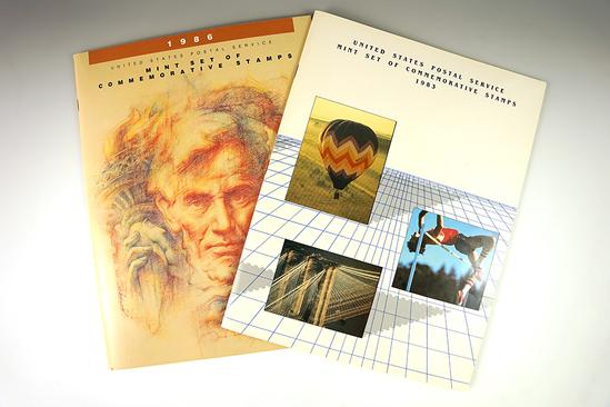 1983 & 1986 Postal Commemorative Sets.