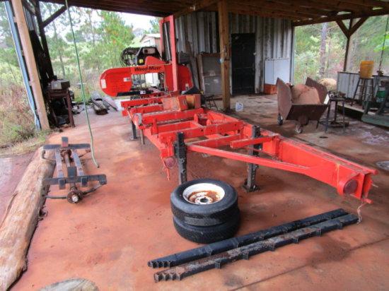 Wood-Mizer Lt30 Saw Mill   Auctions Online   Proxibid