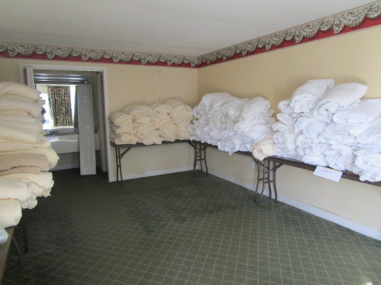 Rm 125 - Large Lot of Blankets and Mattress Pads