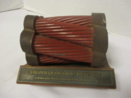 Strands of History 1936-1976 Golden Gate Bridge Original Suspender Cable