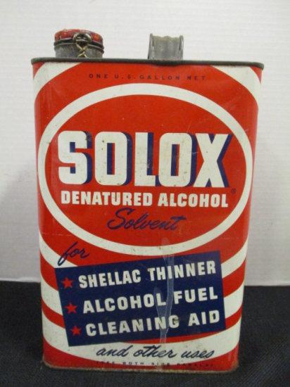 Solox Denatured Alcohol Solven    Auctions Online | Proxibid