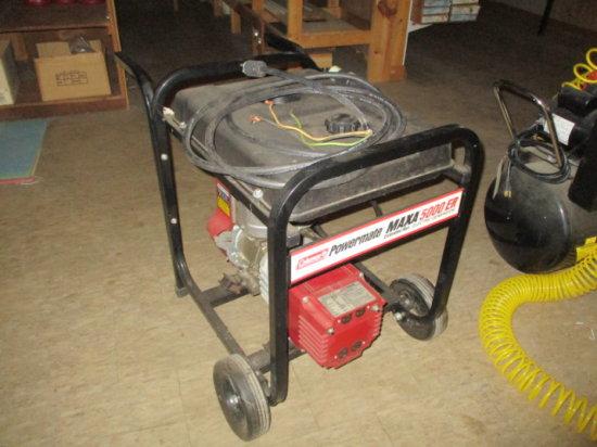 Coleman Powermate Maxa 5000 ER Generator