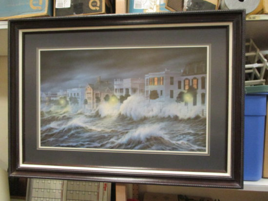 Framed and Matted Print by Jim Booth