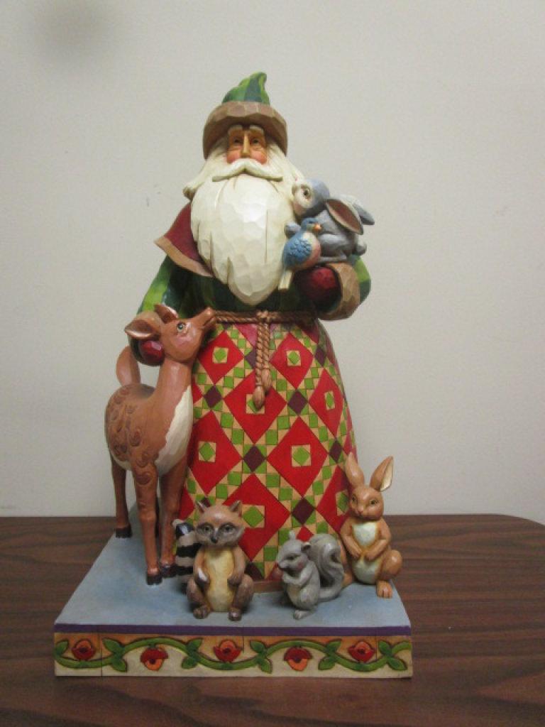 "HUGE 24"" Jim Shore Heartwood Creek Woodland Christmas"