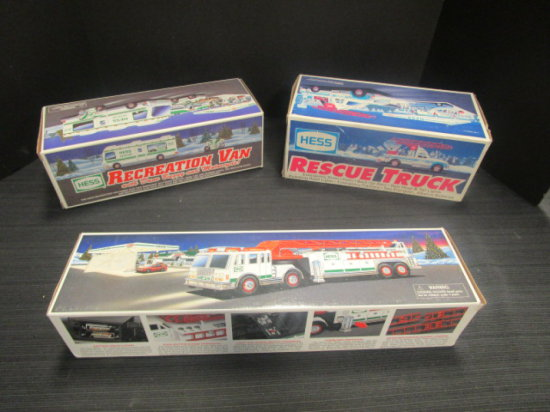 Hess Lot of 3 in Boxes
