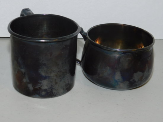 Sterling Silver Child Cups