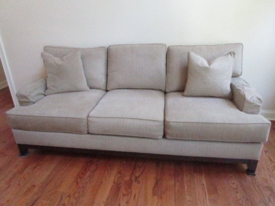 Ethan Allen Sofa with Accent Cushions