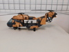 G. I. Joe Eagle Hawk Helicopter with pilot & Missiles
