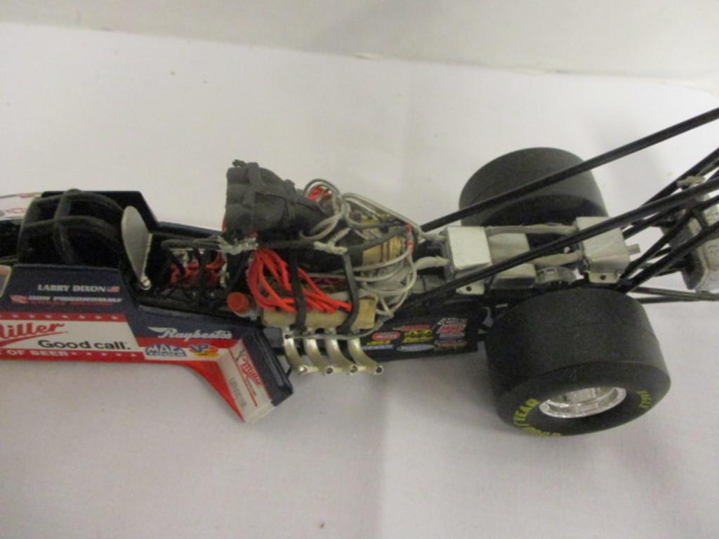 Lot: Three Action Dragster Die Cast Cars-#11 Jarrett, Miller