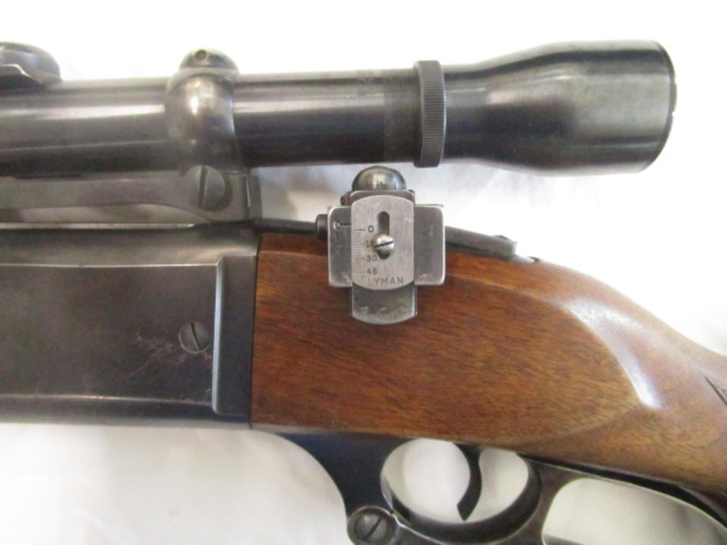 Lot: Old Savage Arms 300 Savage Lever Rifle w/ Weaver K4 60