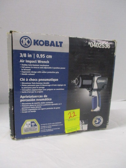"New in Box Kobalt 3/8"" Air Impact Wrench"