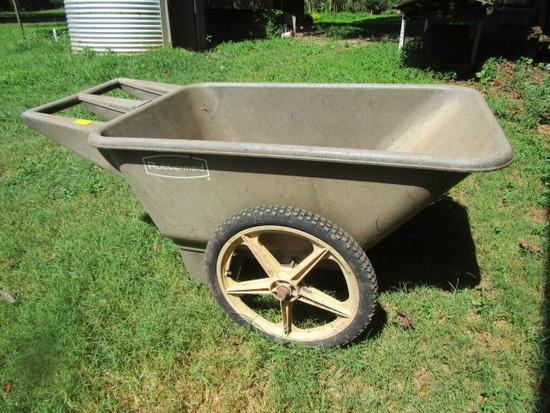 Rubbermaid Garden Cart | ... Auctions Online | Proxibid