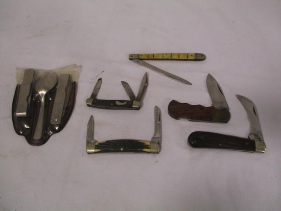 5 Old Pocket Knives & Boy Scou    Auctions Online | Proxibid