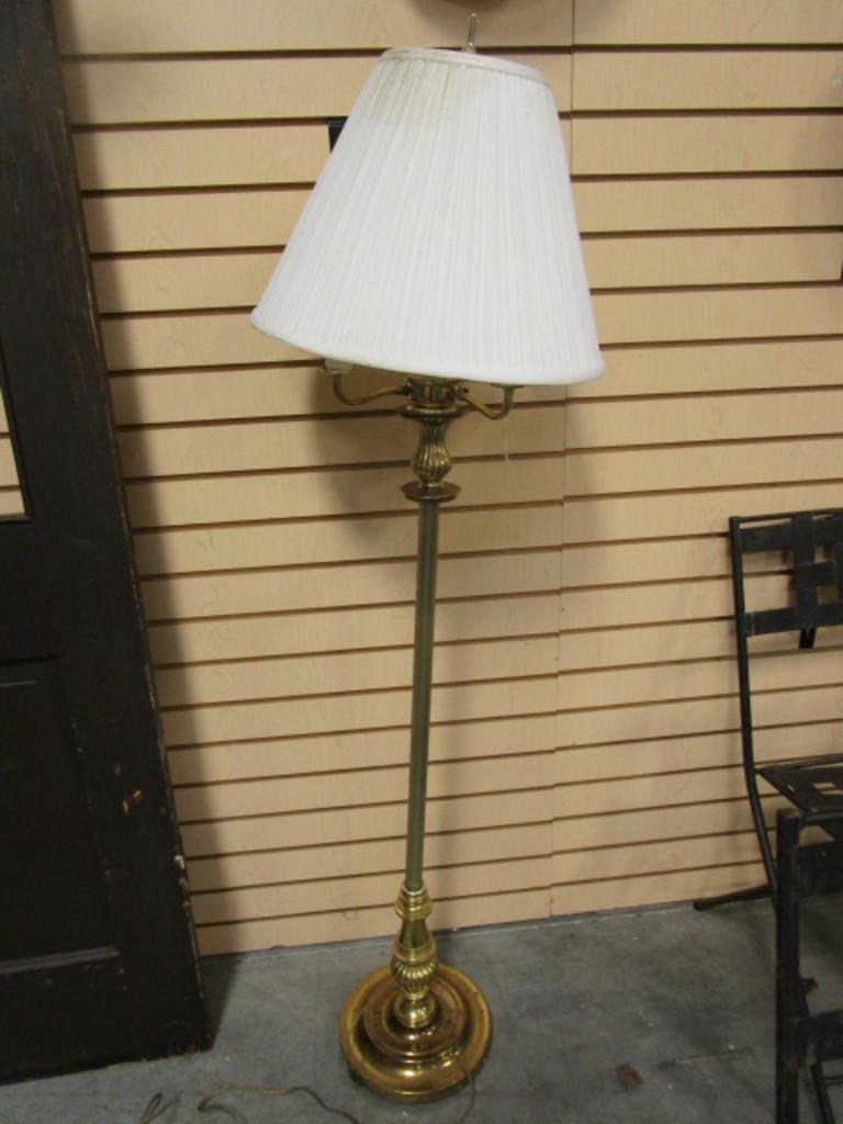 Four Bulb Floor Lamp