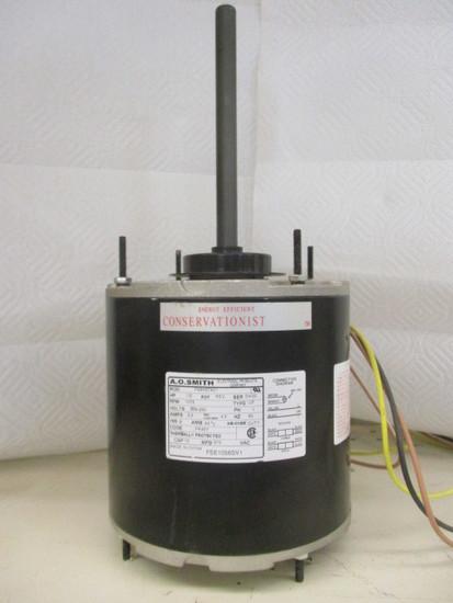 A O  Smith F48K97A01 Universal Condenser Fan 1/2 HP Motor