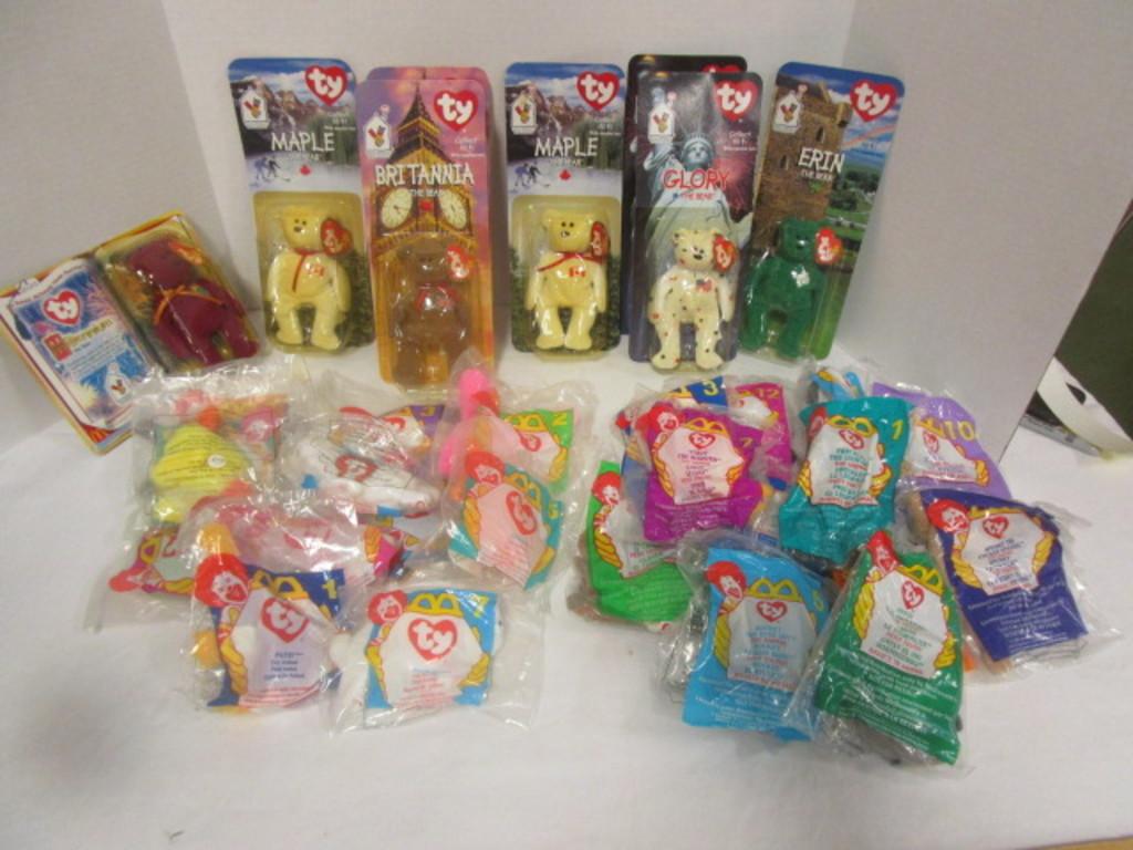 be37ed79448 Lot  Ty McDonald s Teenie Beanie Babies and Bears