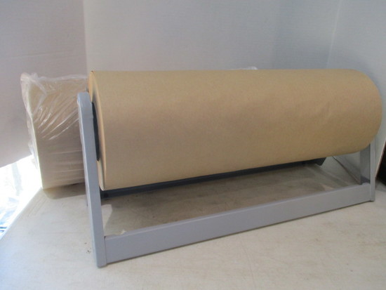 Kraft Paper Stand/Cutter with Paper and Extra Roll