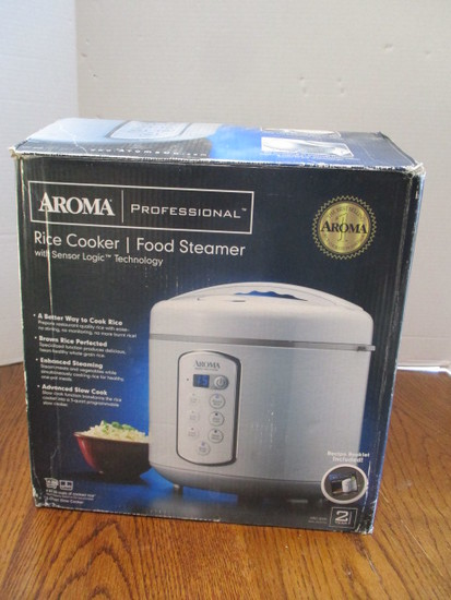 Aroma Professional Rice Cooker/Food Steamer
