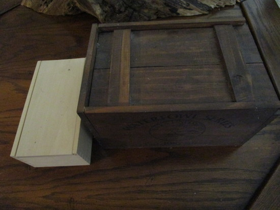 Two Wood Boxes Filled with Misc. Ammunition