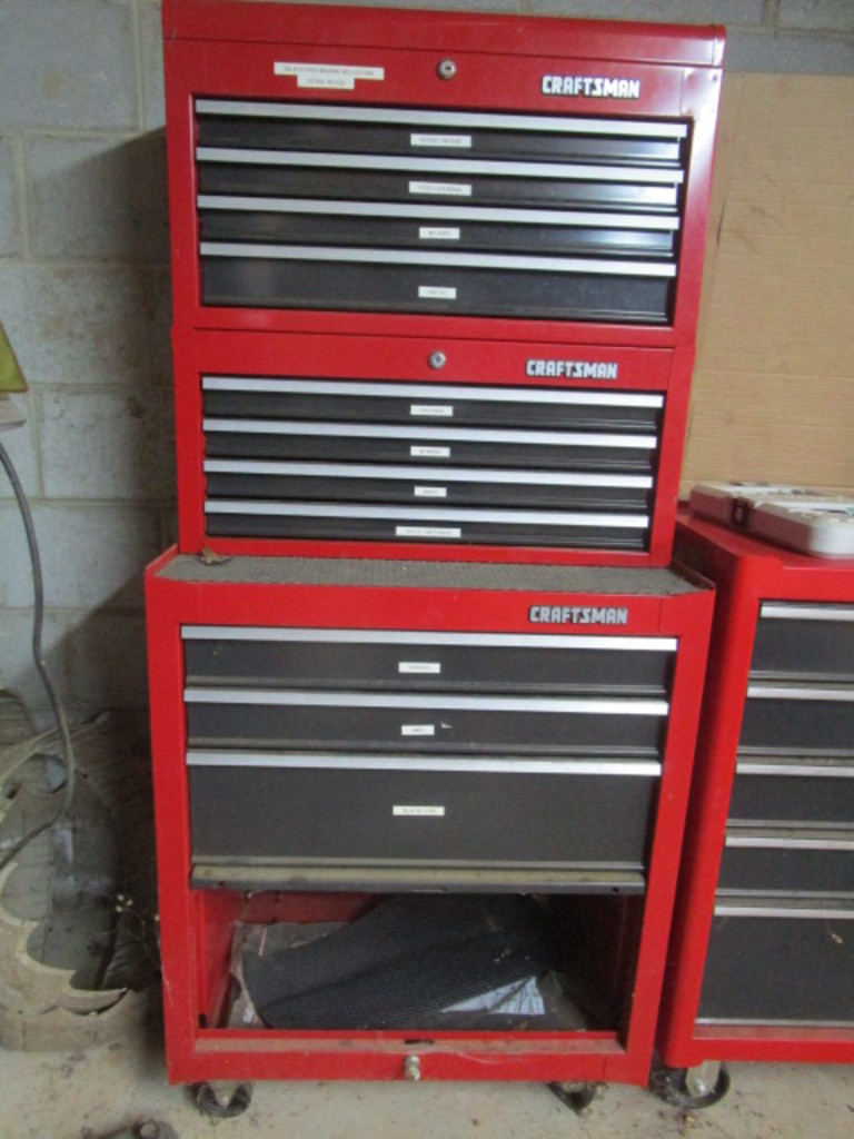 Craftsman Tool Box w/ Tools
