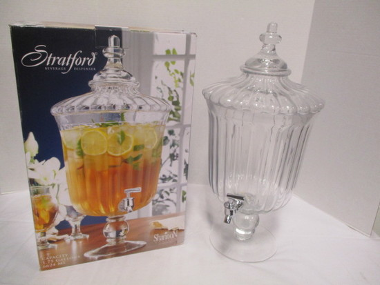 Shannon Crystal Stratford Beverage Dispenser