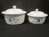 Two Worcester Royal Porcelain Co. Fine Oven China