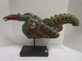 Colorful Wood Carved Toucan Statue