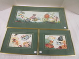 Three Signed/Numbered Tropical Fish Prints by Jeanne Nash