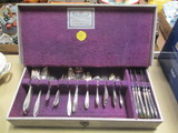 77 Pieces of Community Silverplated Flatware in Associated Silver Co.