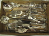 Silverplated Flatware and Serving Pieces