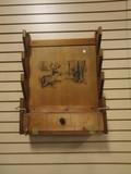Wood Wall Mount Gun Rack