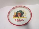 Regal Beer Metal Tray