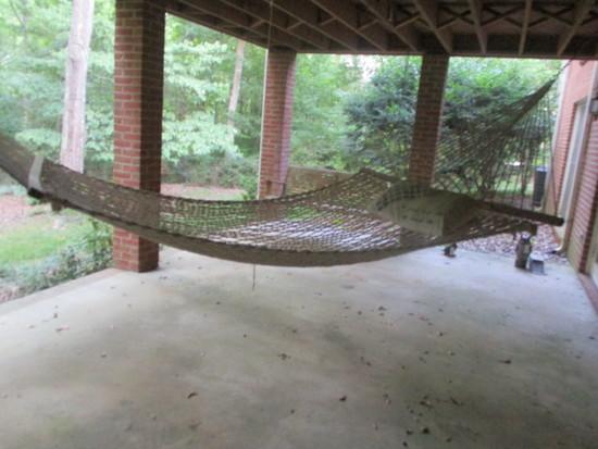 Original Pawley's Island Rope Hammock with Pillow