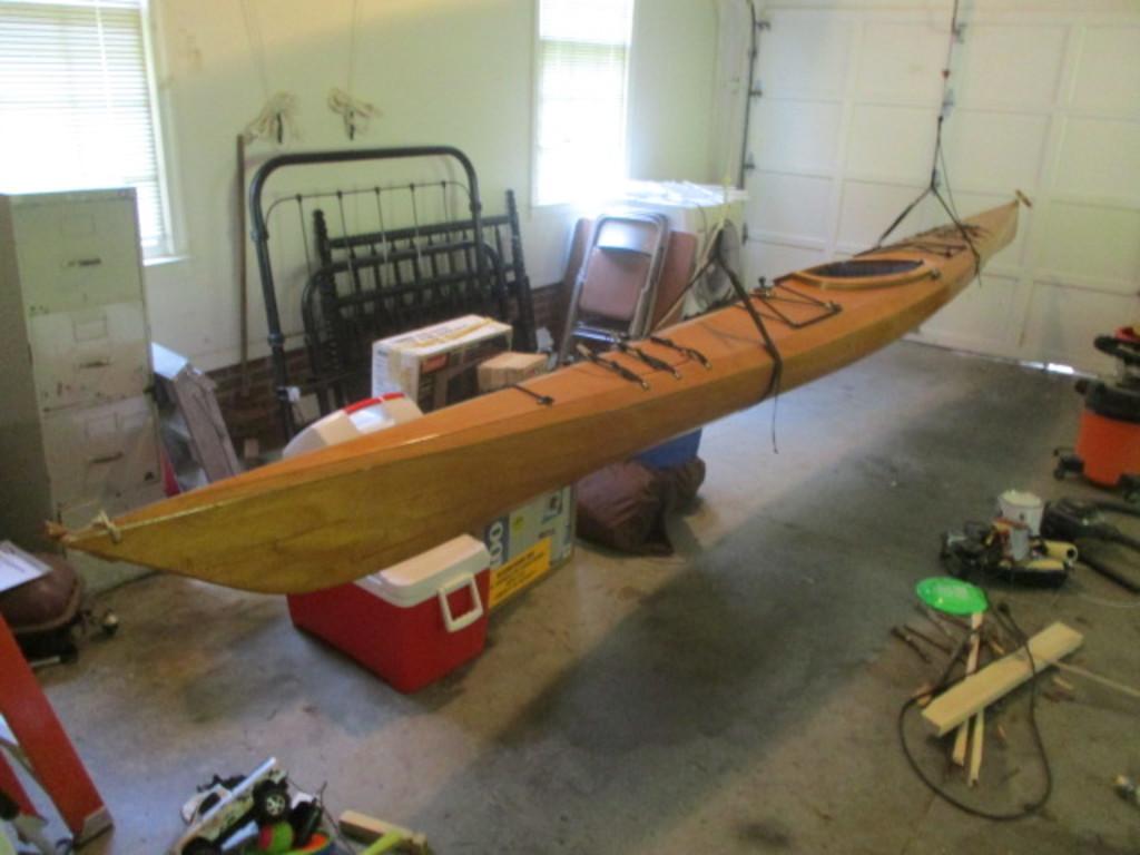 """Pygmy 17'8"""" 1 Person Wood Kayak"""