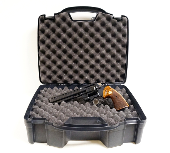 "Beautiful 1970 Colt Python 357 ""Combat Magnum"" 6"" Revolver in Hard Case"