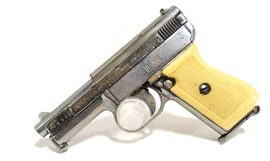 Mauser 1910/14 .25 ACP Nickel Plated Pistol