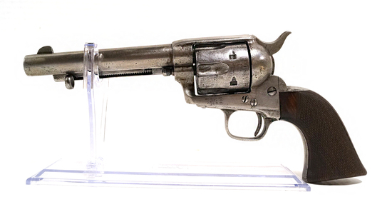 Extremely Rare Antique Colt London Agency SAA Single Action Army Revolver in .450 Boxer