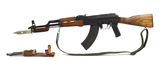 Original SA/Cugir Romanian GP WASR-10/63 7.62x39 Semi-Auto AK47 w/ Bayonet & Side Scope Mount