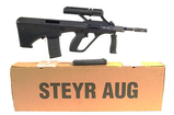 LNIB Top-of-the-Line Iconic Steyr AUG A3 M1 .223 Semi-Automatic Tactical Rifle w/ 3x Optics