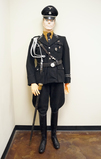 Suited Mannequin - German WWII SS Officer in M32 Allgemeine Tunic