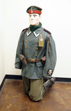 Suited Mannequin - German WWI Storm Trooper or Post War Friekorps Uniform w/ M1907 Forage cap