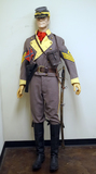 Suited Mannequin - Reenactment Civil War Confederate First Sergeant Cavalry Soldier