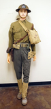 Suited Mannequin - Early WWI US Doughboy 2nd Infantry Division Soldier w/ M1917A1 Kelly Helmet