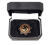 WWII Nazi 1941 German Silver Cross by Steinhauer & Lueck in Presentation Box
