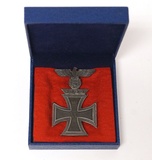 German Nazi 1939 1st Class Iron Cross w/ 2nd Pattern 1939 Eagle Spange/Clasp in Presentation Box