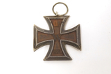 Imperial German Iron Cross of 1870 2nd Class w/ Ribbon Suspension Ring
