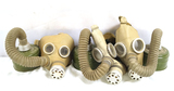 3 Vintage Soviet RUssian (PDF-D) USSR Civilian Child Gas Mask with Filters
