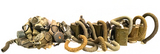 Large Lot of Various Military US M9 Field Gas Masks w/ Filters & Tubes