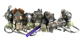 Large Lot of Zivilschutzfilter 68 German Civillian Gas Masks