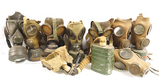 9 Military Gas Masks - See Description